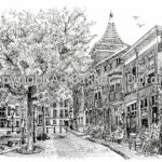 Pentekening Dordrecht