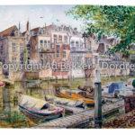 Aquarel Dordrecht