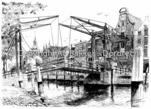 Damiatebrug in Dordrecht